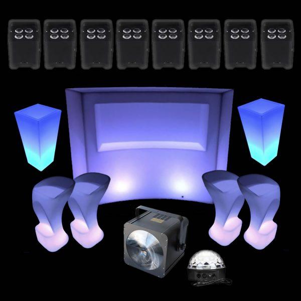 illuminated wedding lights package