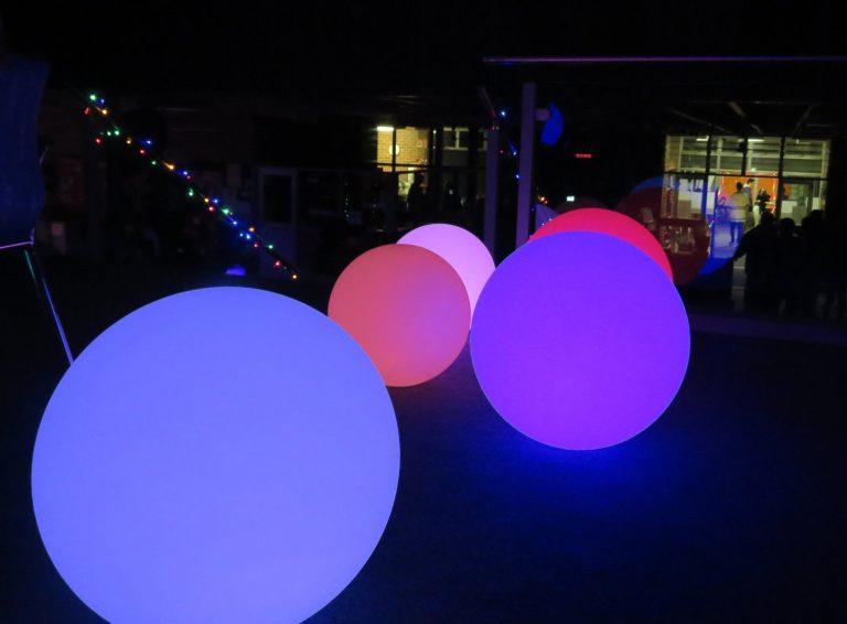 glow spheres