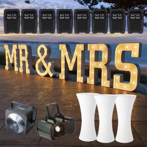 light up wedding lights package