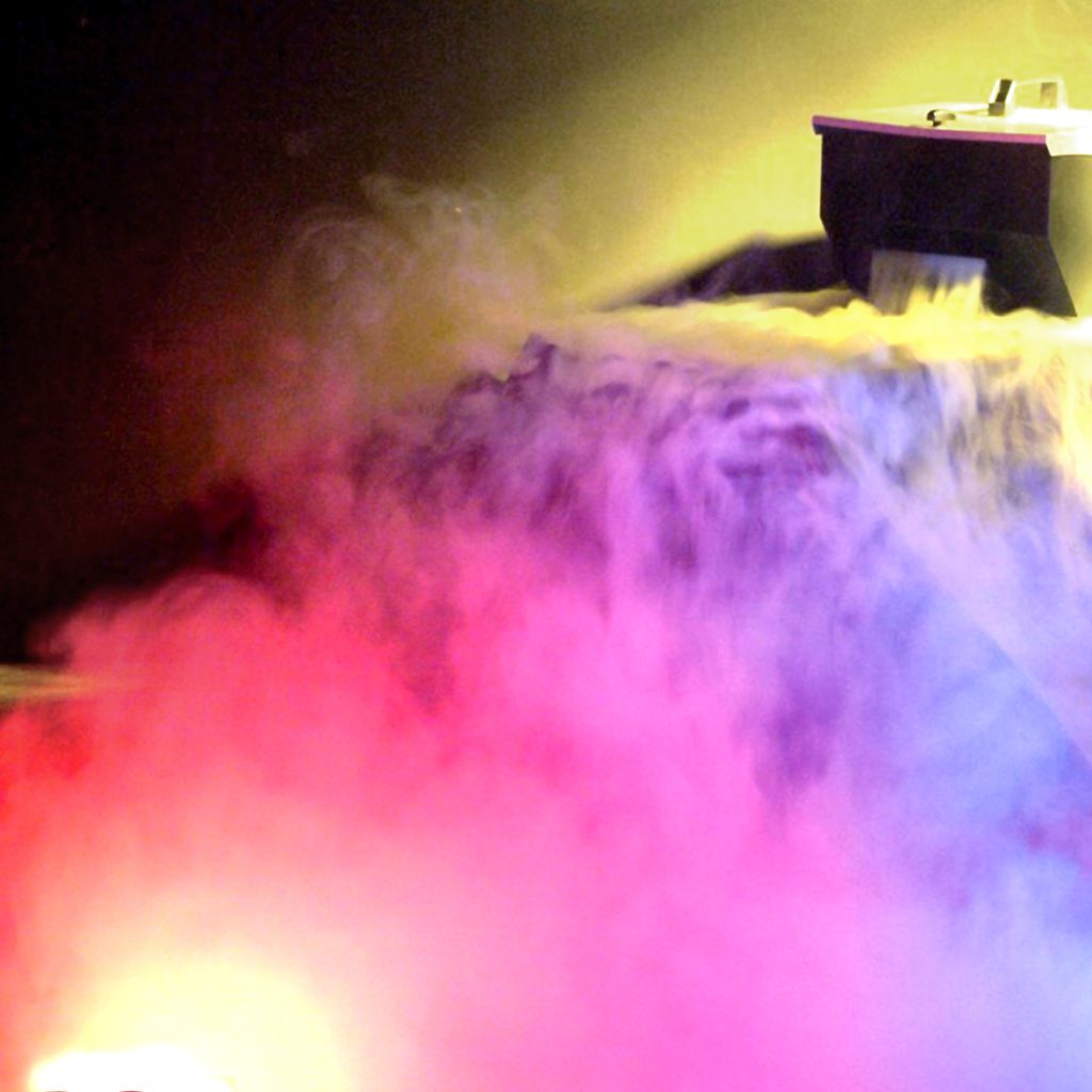 low lying fog machine