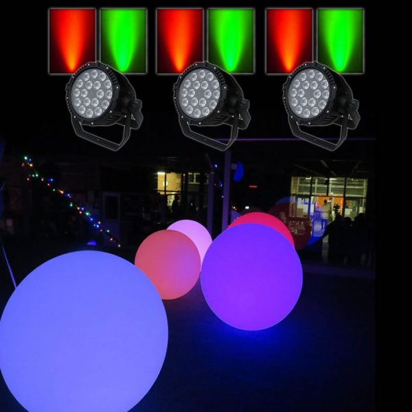 Xmas Pool Party Lights